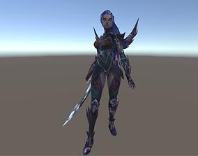 Diana - League of legends Character 3D asset