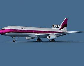 Lockheed L-1011-50 PSA 3D