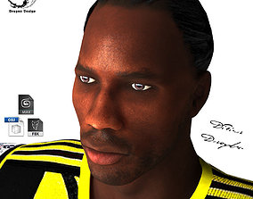 Didier Drogba 3D model