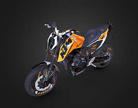 3D asset game-ready KTM Duke 690