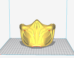 Scorpion MK11 3D printable model