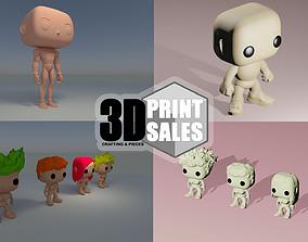 3x2 Promo Pack 6 - Custom Pop 3D Printable Models DIY