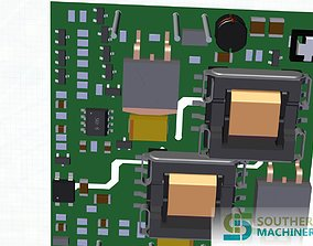 3D How to make DC converter PCB assembly in Smart EMS