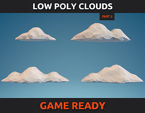 Low Poly Clouds Part 2 3D model