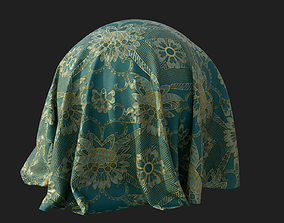 3D model Fabric Pattern Material