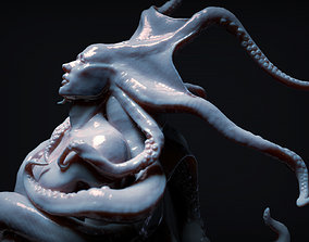 Octopus 3D model sculpture