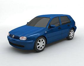 3D model 2000 Volkswagen Golf IV Hatchback