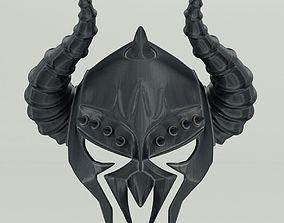 Horned Helmet 3D model