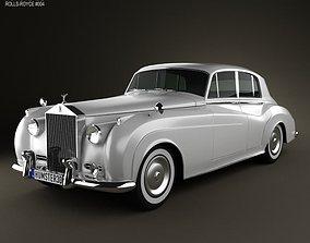 3D model Rolls-Royce Silver Cloud II saloon 1959
