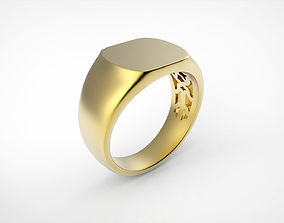 3D printable model Stamp ring