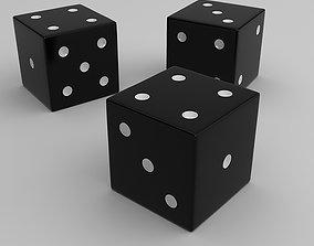 Dice cubes 3D