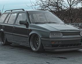 Volkswagen Golf Mk3 Estate VARIANT 3D model