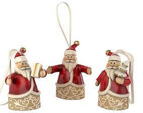 Santa Decoration 3D model