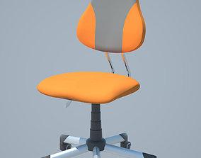 childrens roll chair 3D