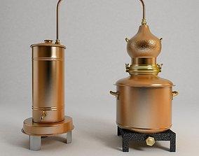 distiller 3D model