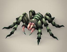 Game Ready Spider Tarantula 3D model