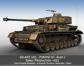 3D PzKpfw IV - Panzer 4 - Ausf J - 611