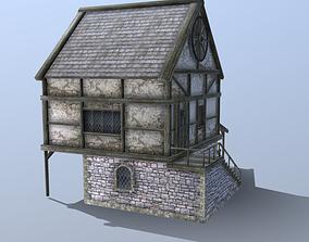 Medieval Blacksmith 3D asset
