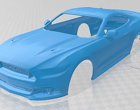 Mustang GT 2015 Printable Body Car