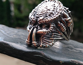 3D print model Predator ring