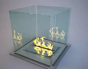 Bio fireplace - biofireplot 3D model