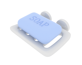3D Soap Dish 01
