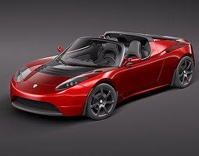 Tesla Roadster 2010 3D