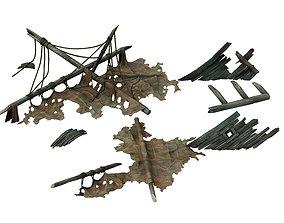 Game Shipwreck - Shipbreaker 01 3D