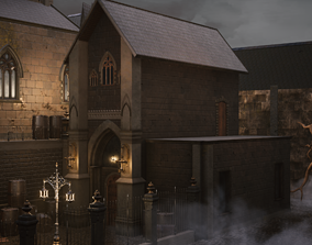 Victorian Building 3D asset