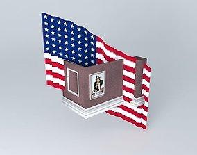 America WW2 Recruitment Posters 1942 3D