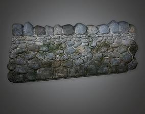 Outdoor Wall 07 GFS - PBR Game Ready 3D asset