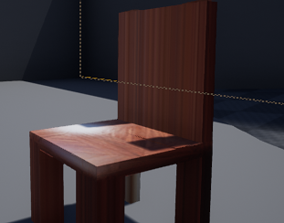 furniture 3D print model a chair