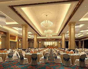 3D model Business Restaurant - Coffee - Banquet 80