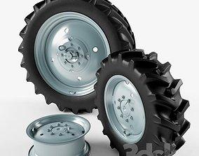 tractor wheel 3D