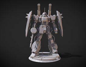 3D printable model Kslash Zaku Warrior