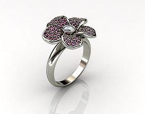 Ring ring diamond 3D print model