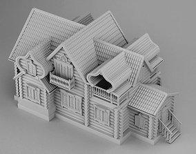 Big slavic house 3D print model