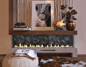 PLANIKA Valentino CS 02 with ANIMATED FIRE 3D model