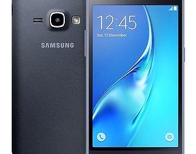 3D Samsung Galaxy J1 2016 Black