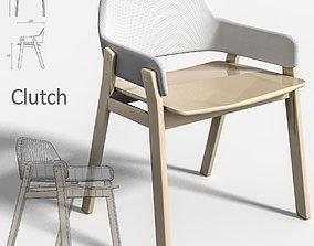 arm-chair armchair Clutch 3D