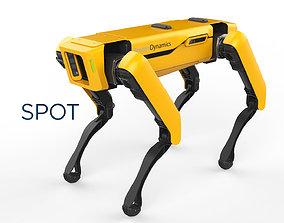 3D Boston Dynamics Spot Yellow
