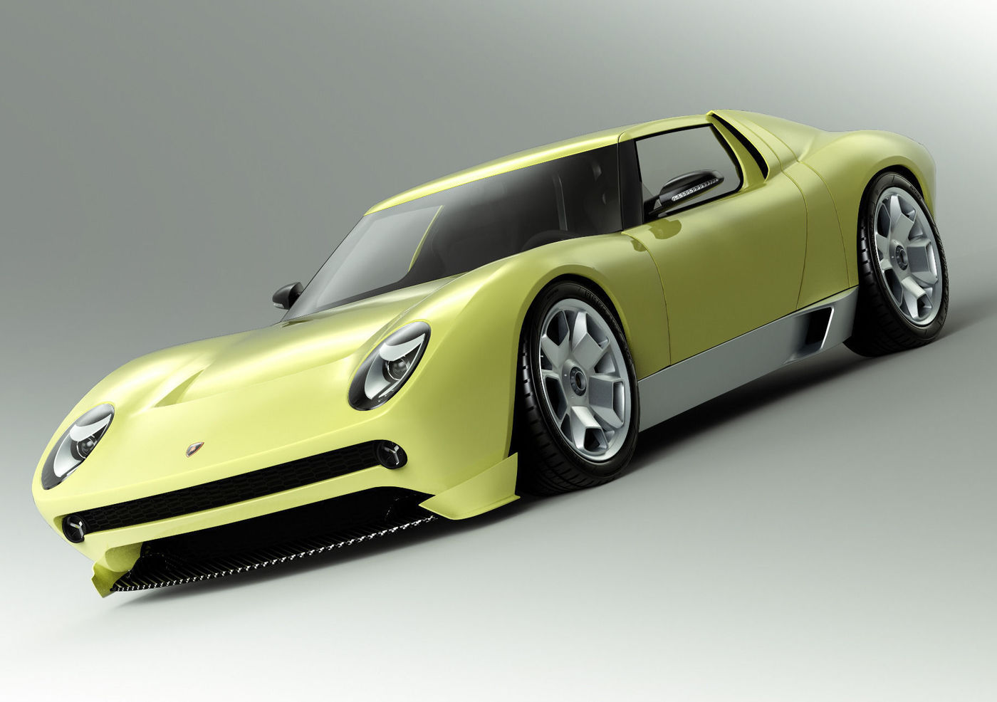 Lamborghini Miura Concept Cgtrader