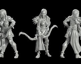Paladin archers Girl 3D print model