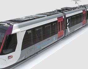 3D ALSTOM CITADIS DUALIS U53500 train