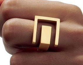 jewelry Angela Hubel Ring 01 3D print model