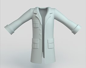 Bathrobe 3D model VR / AR ready