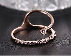 Beautiful ring 93 3D printable model