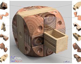 Boite a secrets 3D print model