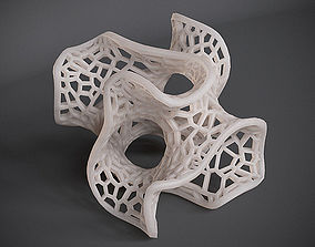 Gyroid Voronoi Lattice 3D print model