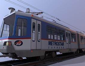 Train 3D asset realtime